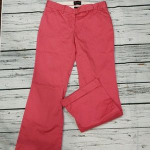 The Limited Drew Fit cuffed ankle pants sz 2 pink